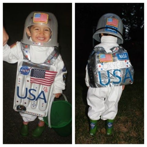 Easy DIY Astronaut Costume #astronaut #halloween # ...