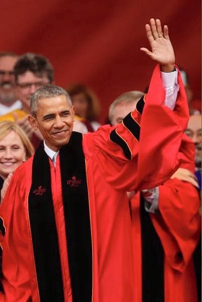 #Congratulation #44thPresident #BarackObama #44thPresident Of The United States #BarackObama #RutgersUniversity #Commencement May 15, 2016 Robert Barchi Confers An #Honorary Doctor Of #LawDegree Upon President Of The United States Barack Obama A #Historic #Commemoration Thanks for making the #250th #Anniversary #Commencement an amazing and historic celebration. Congratulations to the newest Rutgers graduates and welcome to the Rutgers Alumni family.