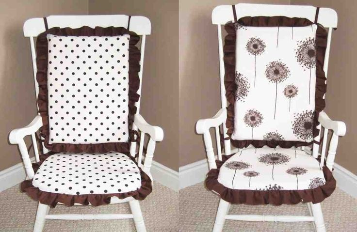 ideas about Rocking Chair Covers on Pinterest  Chair cushion covers ...