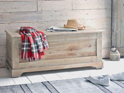 Clyde wooden storage box