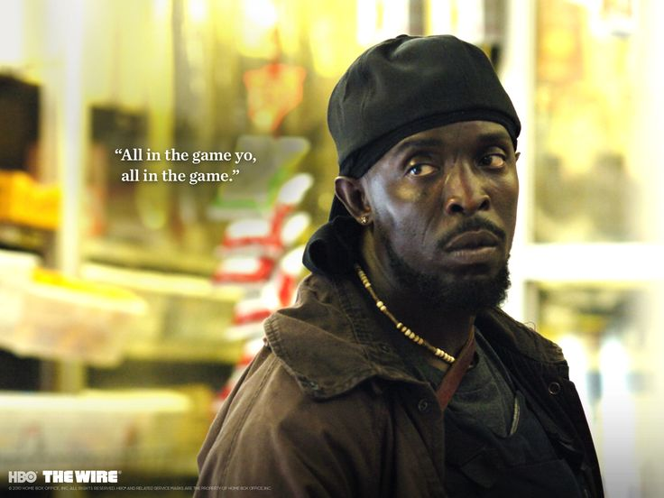 Omar. The Wire. HBO.