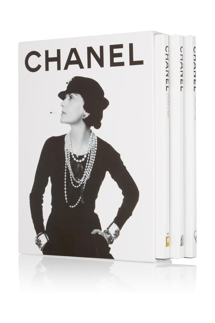 Assouline|Chanel by François Baudot and François Aveline set of three hardcover books|NET-A-PORTER.COM