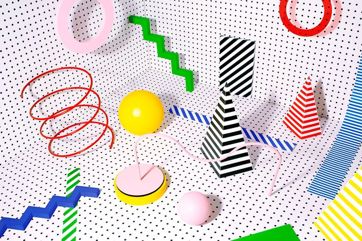 Personal project of handmade geometric compositions