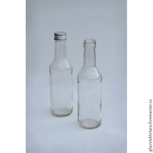 Чекушка 250мл. Стеклянные бутылки. стеклянные банки. Интернет-магазин ГЛАВСТЕКЛОТАРА (Андрей)