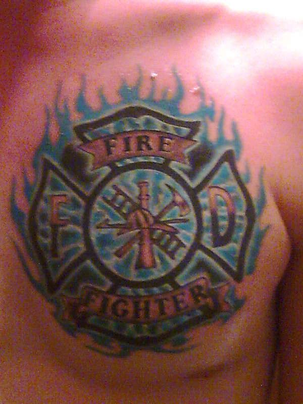 firefighter tattoos Google Search AMAZING TATTOOS