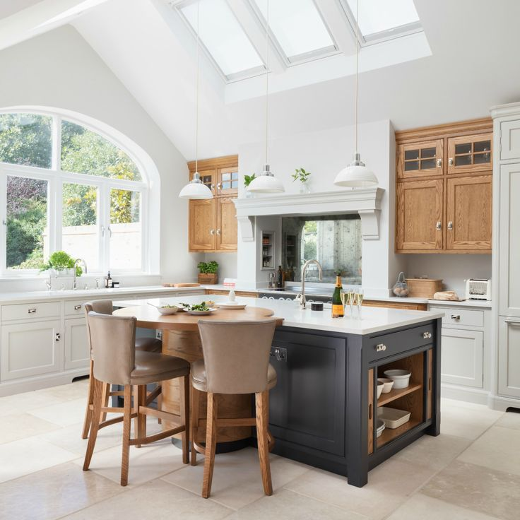 barnes village luxury bespoke kitchen humphrey munson sq - Bungalow Floor Plans