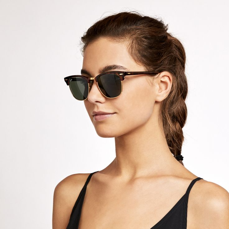 Clubmaster Glasses Model