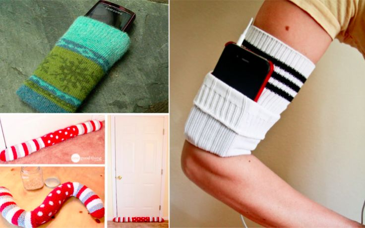33 moyens ingénieux de recycler une chaussette célibataire