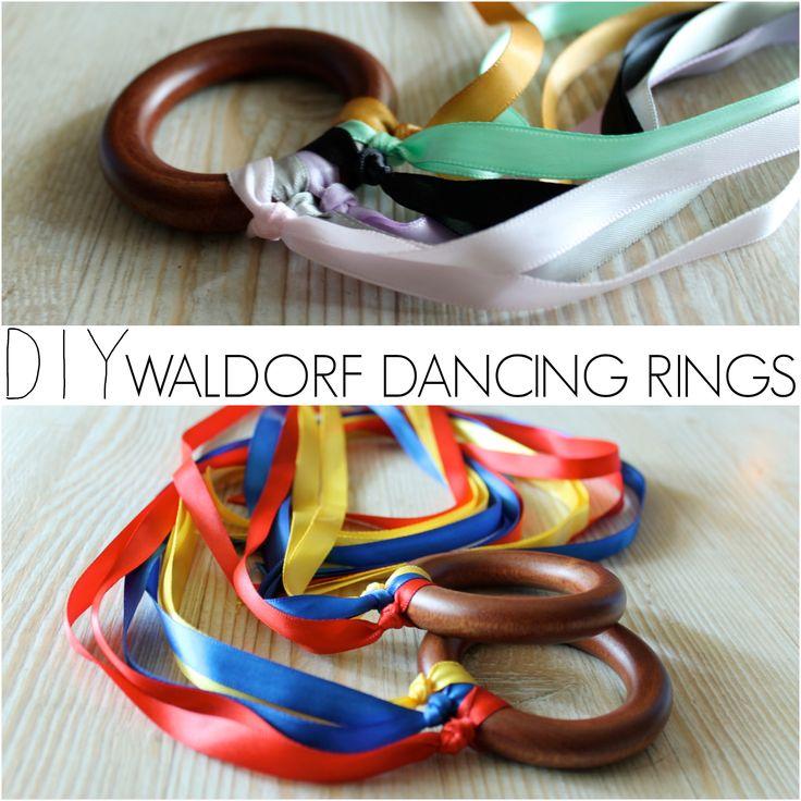 DIY Waldorf Dancing Rings
