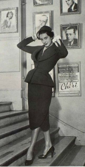 Christian Dior suit 1950