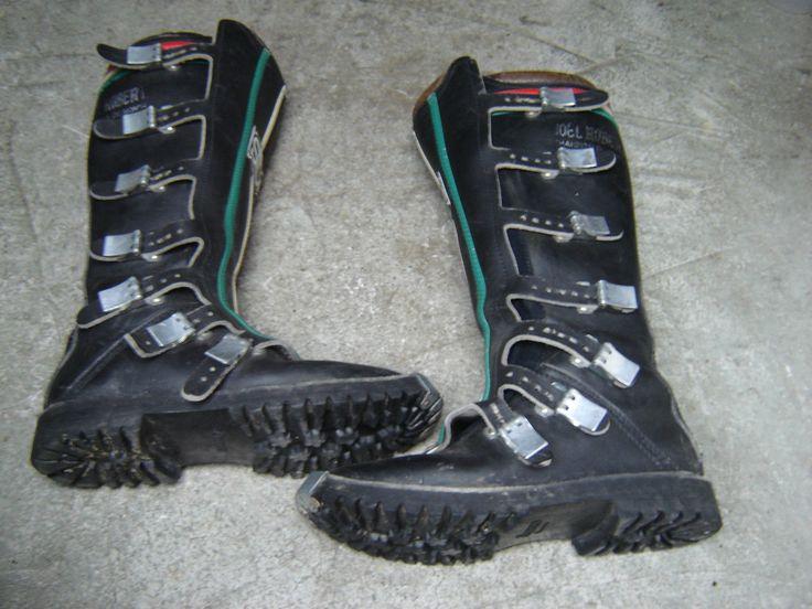 Motorcycle Boots Stivali Sidi Enduro Vintage
