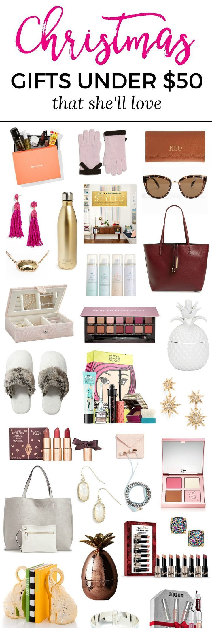The best Christmas gift ideas for women under 50