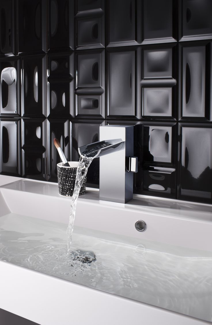 Block Monobloc Bathroom Basin Tap from Crosswater http://www.crosswater.co.uk/product/block/block-basin-monobloc/