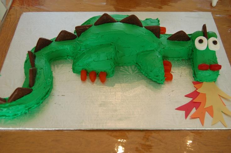 Le gâteau de fête de Louis.. mon chevalier! Pour ses 5 ans!