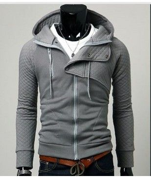 Modern twist: Drawstring Hoods, Modern Twists, Men Clothing, Hoodie Men Style, Men Fashion, One Hoodie, Folding Ov Collars, Men Zip Up Hoodie, Amazing Hoodie