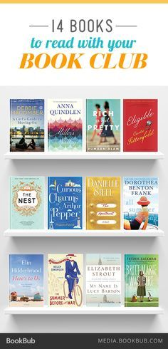 Excellent choices for your next book club read.