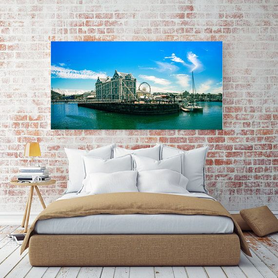 Printable Wall Art - Whispy Moments at Waterfront Cape Town, South Africa