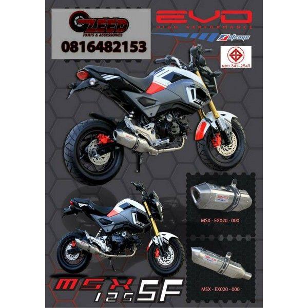 Honda Grom MSX125 Evo Low Mount Exhaust - V2  #msx125 #grom #hondagrom #hondamsx125 #honda #grom125 #msx125sf