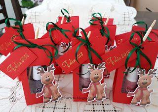 Lange Barreto - Scrap: Lembrancinha natalina