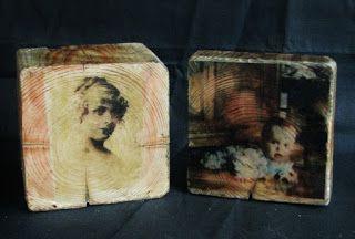 Pomysły plastyczne dla każdego, DiY - Joanna Wajdenfeld: Zdjęcie na drewnie - ciekawy pomysł na prezent