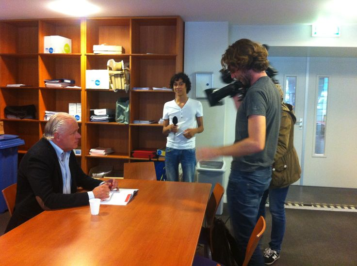 Een interview met leraar Hans van het Maasland College.