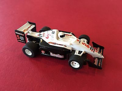 VINTAGE FORMULA ONE INDY STYLE  SLOT CARS V SHARP  # 5  TYCO SLOT CAR