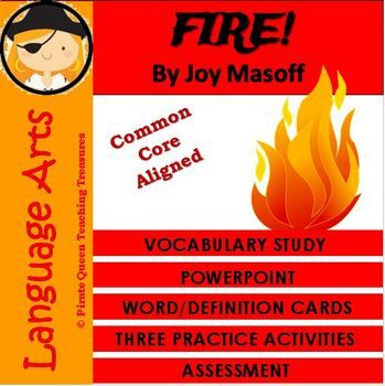 FIRE! Vocabulary Activities/Common Core Aligned