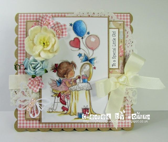 LOTV - Party and Cake Art Pad with Dress Shoppe Paper Pad by Donna Mosley