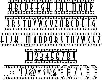 fuente-tipografia-vintage-retro-art-deco-showtime