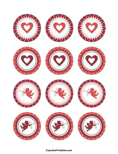 Card Cake Toppers