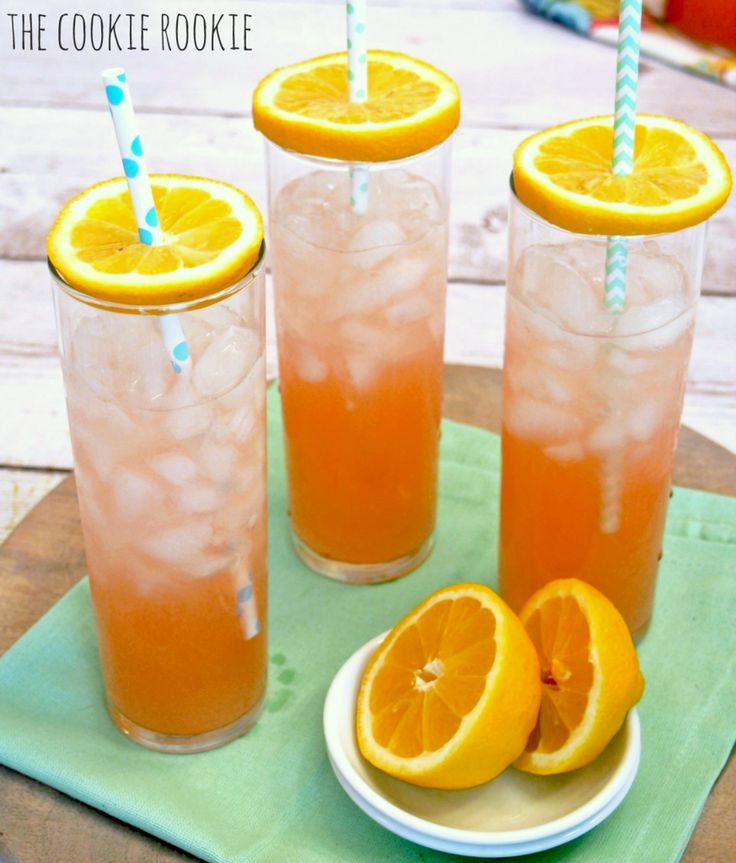 SUMMER DRINK! Beer, Vodka, and Pink Lemonade. Pink Summer Shandy. So refreshing!! - The Cookie Rookie