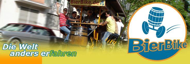 www.bierbike.de  - Das ultimative Spaßfahrrad - Start