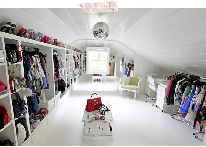 play dress up every day in this it has shelves galore and even a mirror ball attic closet wh