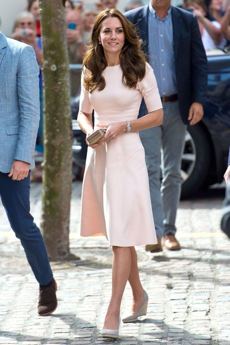 The Duchess of Cambridge wore Lela Rose - September 1, 2016