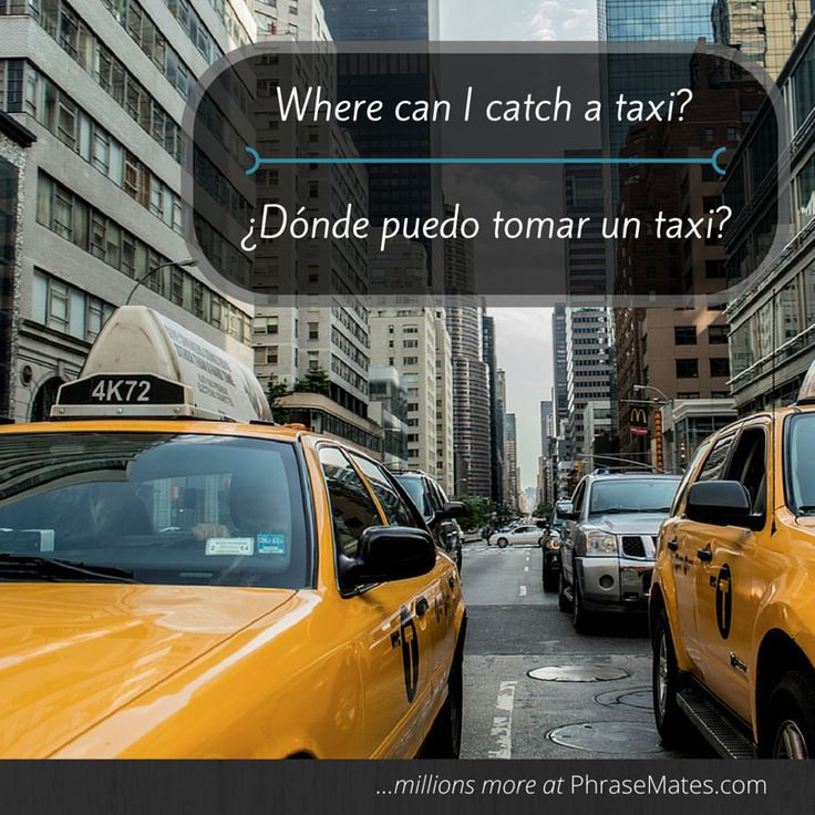 Find a taxi stop nearby with this helpful phrase!