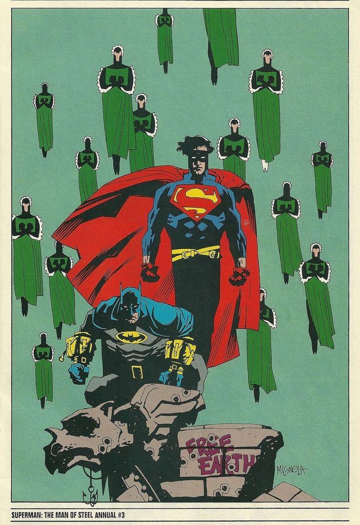 Batman & Superman - Mike Mignola