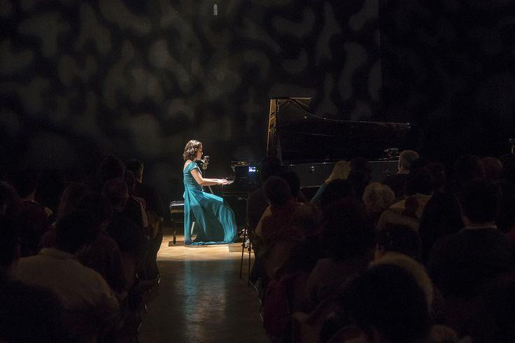 Jóvenes Pianistas - Valeria Chacón. Foto de Patricio Melo
