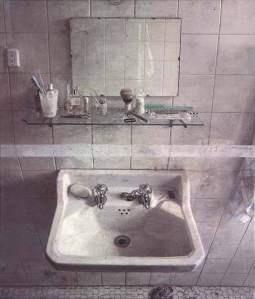 Research, Antonio Lopes Garcia, Sink and Mirror, 1967