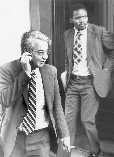 Donald Woods & Steve Biko | A friendship challenged | in memory of Stephen Bantu Biko, Born: 18 December 1946 - Died: 12 September 1977