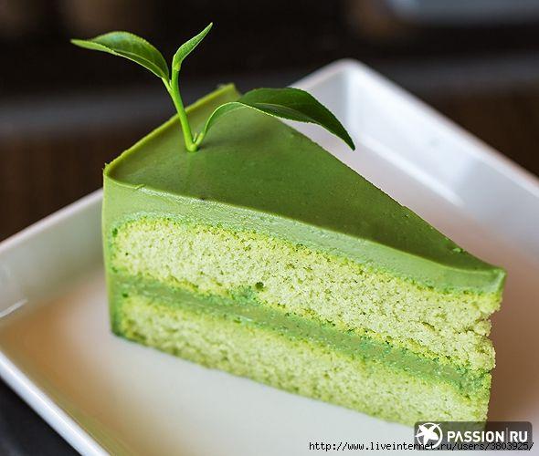 Десерты с зеленым чаем