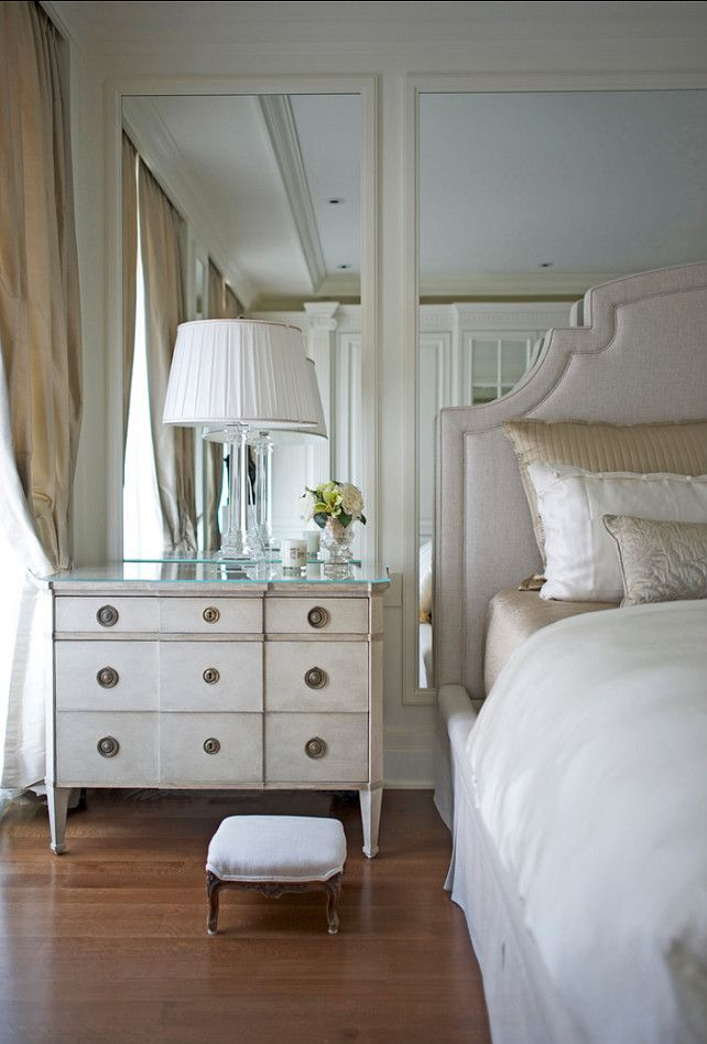 Elegant Traditional French Bedroom. #Bedroom #French