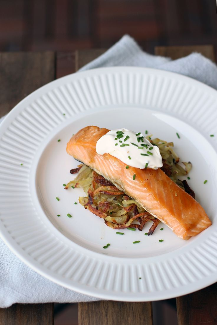 Rösti with Maple-Glazed Salmon | Chu On This