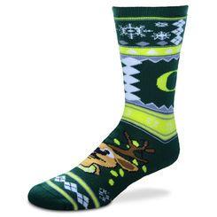 Oregon Ducks For Bare Feet Ugly Christmas Unisex Socks