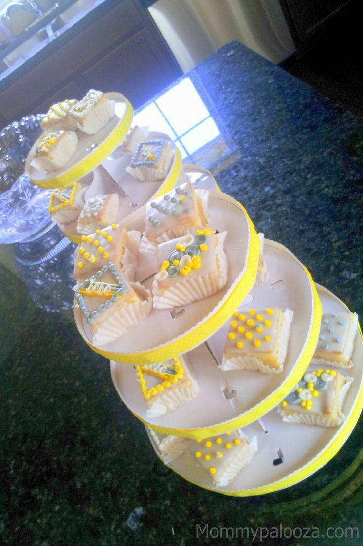 My Sister's Baby Shower: Shades of Gray, Yellow, and White ...