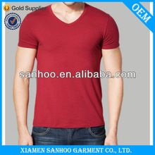 Fancy Brandless Plain Cotton T-Shirts V Neck Apparel For   best seller follow this link http://shopingayo.space