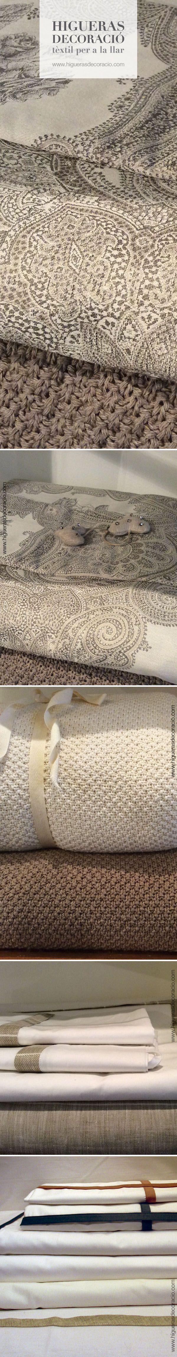 La ropa de cama está en contacto con nosotros, una buena elección es una tarea indispensable. #Sábanas de algodón egipcio o #sábanas de percal, #sábanas de algodón peinado, #sábanas de hilo… Son #sábanas  frescas, que transpiran y de excelente tacto. www.higuerasdecoracio.com