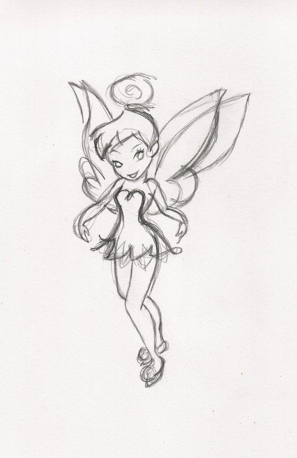 Tink Sketch by Raileigh on deviantART