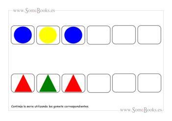 19. Series lógicas con gomets