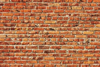 Red Brick Wall Wall Art from Next Wall Stickers