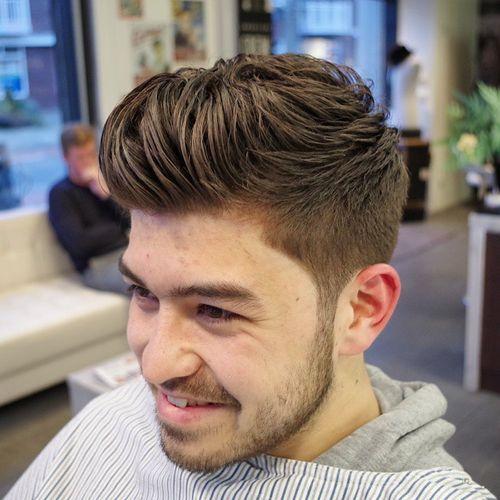layered quiff haircut